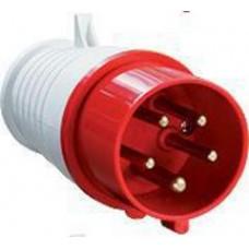 Вилка силовая АБК 5 контактов 32A 380v IP44